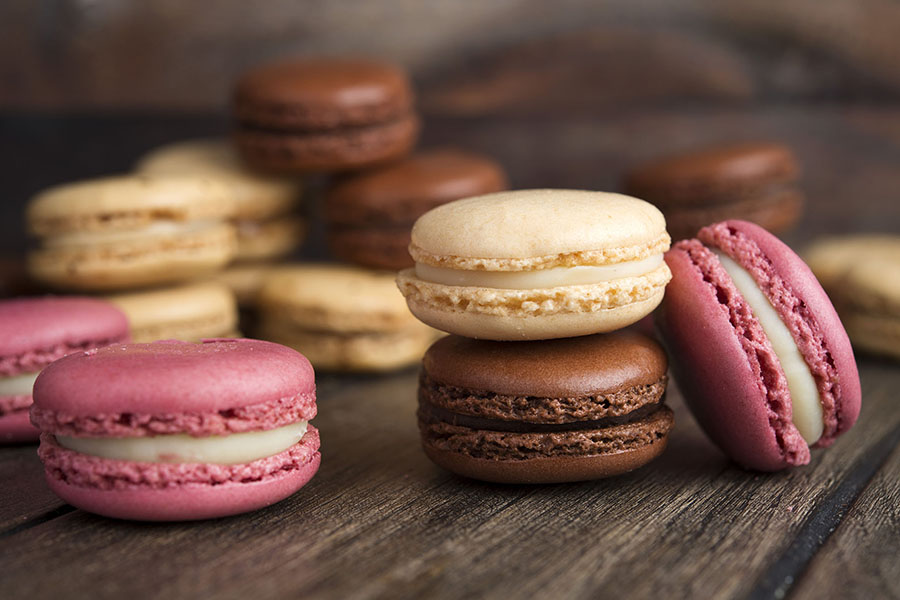 Macaroons at Cannelle Patisserie in Long Island City and Queens